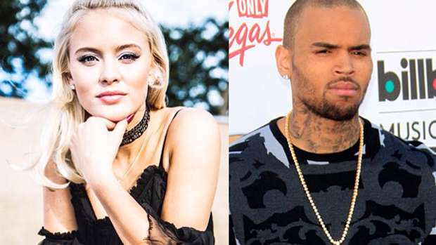 Chris Brown And Zara Larsson Are In A Hilarious Twitter Feud
