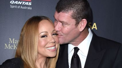 James Packer and Mariah Carey in Los Angeles Photo / Getty