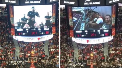 WATCH: The Chicago Bulls Give All Blacks a Shout Out on Big Screen