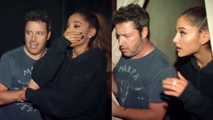 WATCH: Ariana Grande Get Shit Scared Going Through This Haunted House