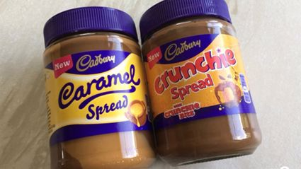 Caramello and Crunchie spreads coming to NZ!