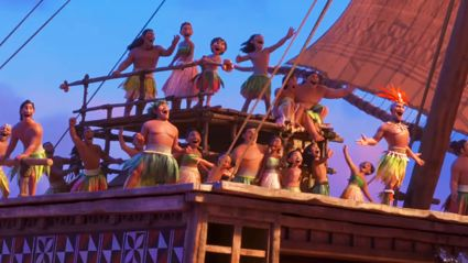 Moana's new song 'Opetaia Foa'i - We Know The Way' is beautiful