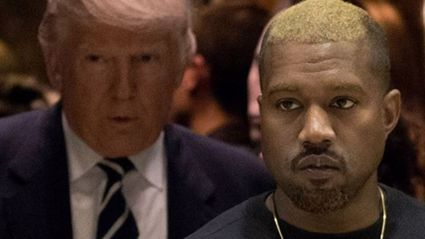 Kim is not very happy with Kanye after his Trump hook up