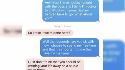 Guy chooses friends and game over girlfriends ultimatum
