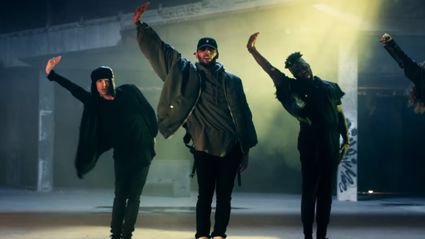 Chris Brown's new video is straight fire!