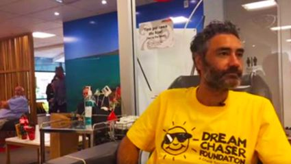 Taika Waititi goes on bone marrow registry for Dream Chaser Foundation