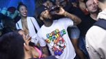 The game drinks a whole bottle of Grey Goose live on stage