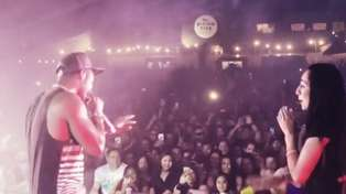 Chingy calls kiwi fan on stage and makes her dreams come true
