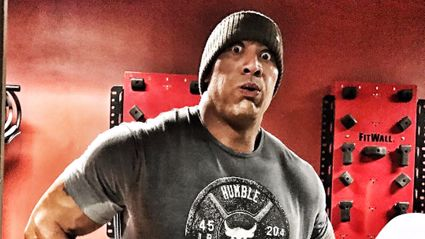 The Rock has a toilet in his gym in case he trains too hard and spews