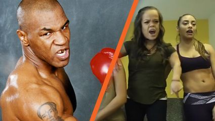 """The full video for Mike Tyson's diss track """"If you show up"""" and it makes no sense"""