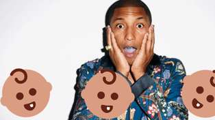 Pharrell Williams just announced the arrival of his triplets
