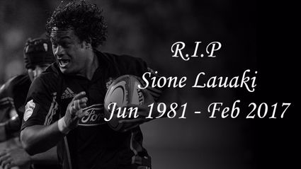 Former All Black enforcer has passed away aged 36