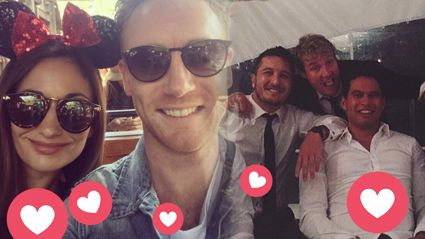 Six60's guitarist Ji Fraser ties the knot with wife Jacquie