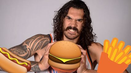 Steven Adams reveals his monstrous eating habit