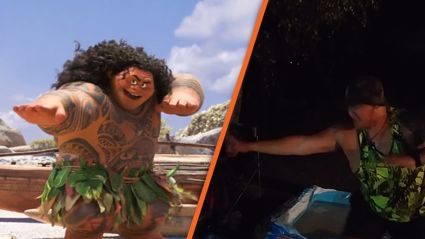"Kiwi does ""You're Welcome"" impression from Moana and it's AMAZING!"