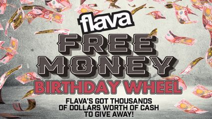 Flava Free Money Birthday Wheel