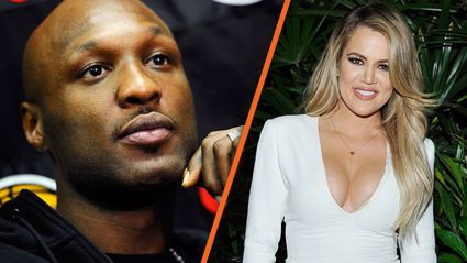 Lamar Odom spotted out and about with Khloe Kardashian look-a-like