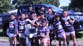 Game day snaps for Vodafone Warriors vs Newcastle Knights