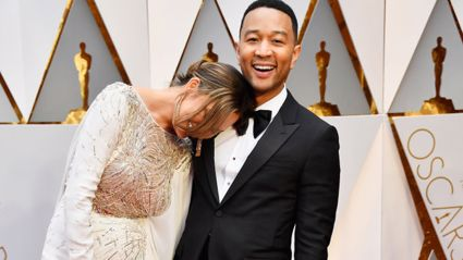 The real reason why Chissy Teigen was sleeping at the Oscar's has been revealed.