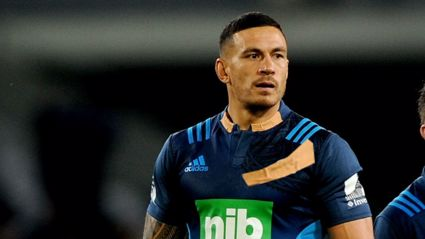 Sonny Bill Williams finally speaks about his logo cover up