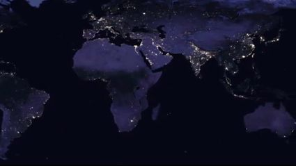 NASA have images of Earth at night and New Zealand looks beautiful