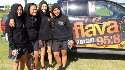 Flava unit out at the New Zealand Secondary Schools Ki o Rahi Nationals