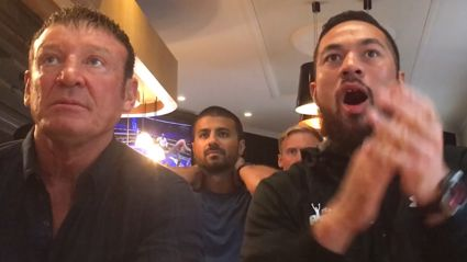 WATCH: Joseph Parker reacts to the Joshua title fight this morning