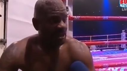 WATCH: The greatest post fight boxing interview you may ever here