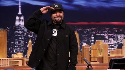 Mad love to Ice Cube who has been awarded a star on the Hollywood Walk of fame