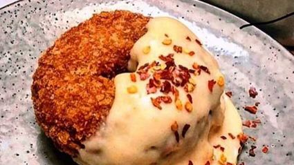 Someone has just combined donuts and chicken nuggets to create the 'donug'!