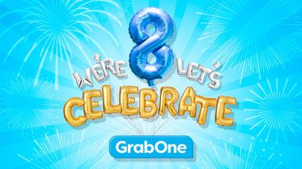 GrabOne's 8th Birthday