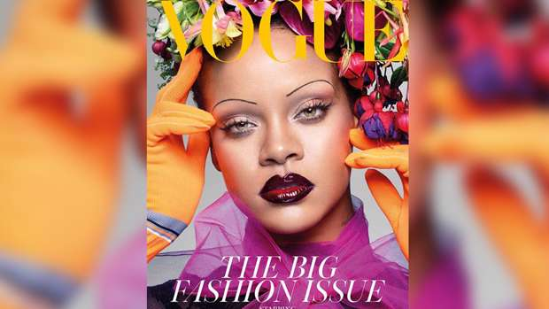 7be4866f9613 Why Rihanna has been slammed as a  racist  over her Vogue cover