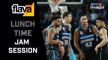 Lunch-Time Jam Session with the SKYCITY Breakers
