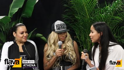 Athena gets the lowdown from Salt-N-Pepa