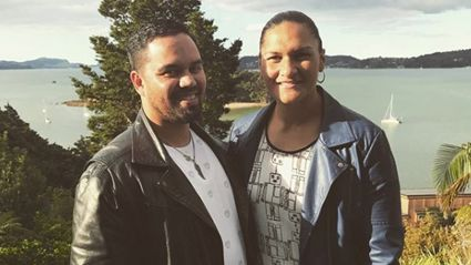 Valerie Adams reveals the gender of her second baby!