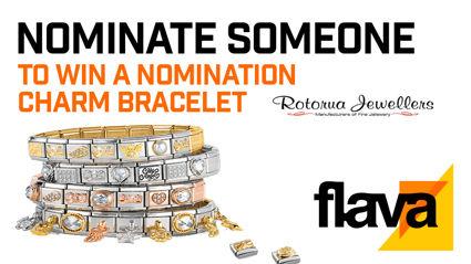 ROTORUA: Nominate someone to win a nomination charm bracelet