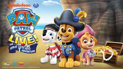 Paw Patrol LIVE - The Great Pirate Adventure!