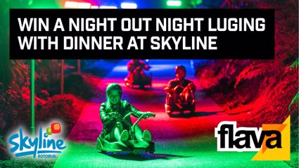 ROTORUA: Win A Night Out Night Luging with Dinner At Skyline