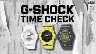 G-SHOCK TIME CHECK