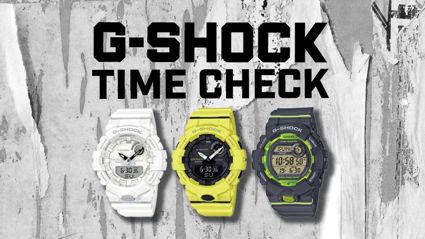 G-SHOCK TIME CHECK