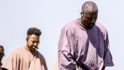 Kanye debuts a never before heard single at Coachella
