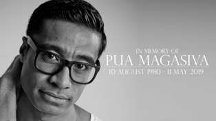Fans and friends pay tribute to Pua Magasiva