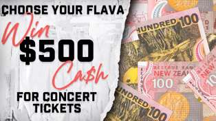 WIN $500 CASH FOR CONCERT TICKETS!