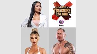 Celebrity Treasure Island: A boxer, a drivetime dynamo and a sexy starlet join the competition