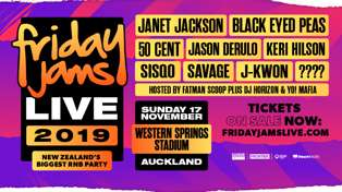 FRIDAY JAMS LIVE 2019 - TICKETS ON SALE NOW!