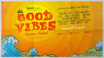 FLAVA PRESENTS GOOD VIBES SUMMER FESTIVAL IN GISBORNE