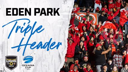 WIN YOUR WAY IN TO THE EDEN PARK TRIPLE HEADER!