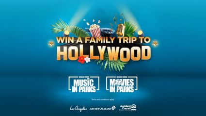 WIN A FAMILY TRIP TO HOLLYWOOD
