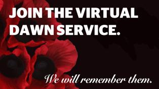 Join the 2020 virtual Anzac Day Dawn Service