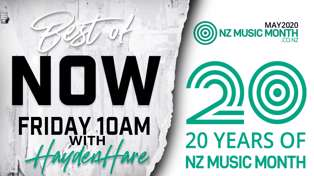 CELEBRATING 20 YEARS OF NEW ZEALAND MUSIC MONTH THANKS TO NZ ON AIR